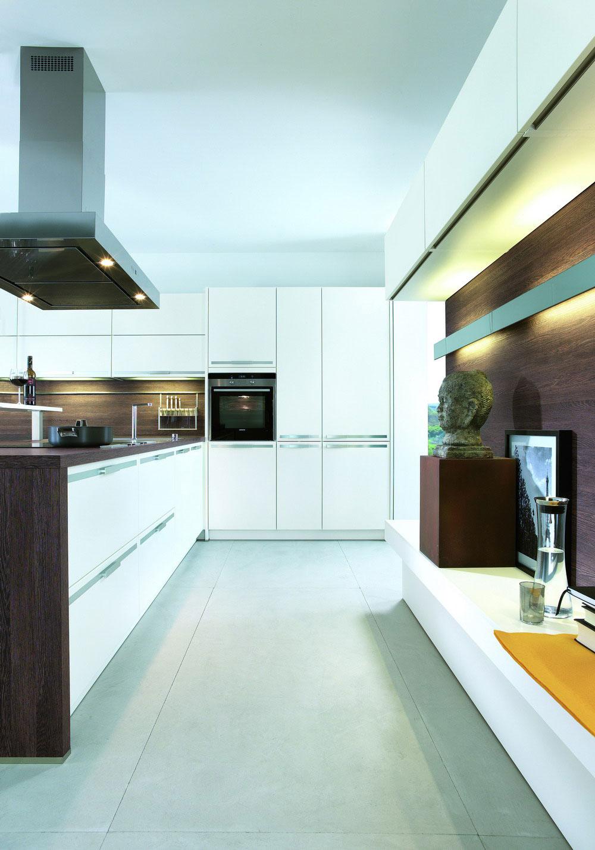 Cuisine blanc bois 7 photo de cuisine moderne design for Cuisine luxe bois