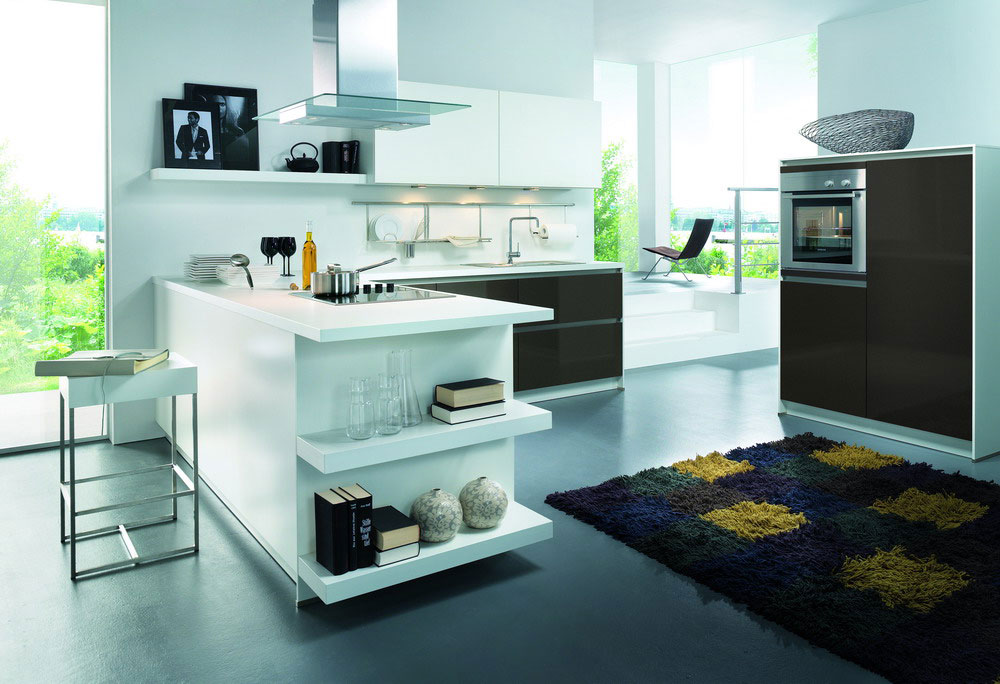 Cuisine blanche 24 photo de cuisine moderne design for Cuisine de luxe contemporaine