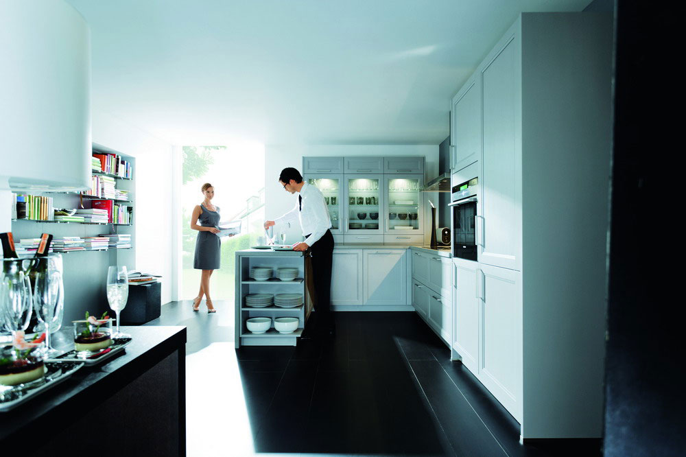 Cuisine blanche 27 photo de cuisine moderne design for Cuisine blanche contemporaine