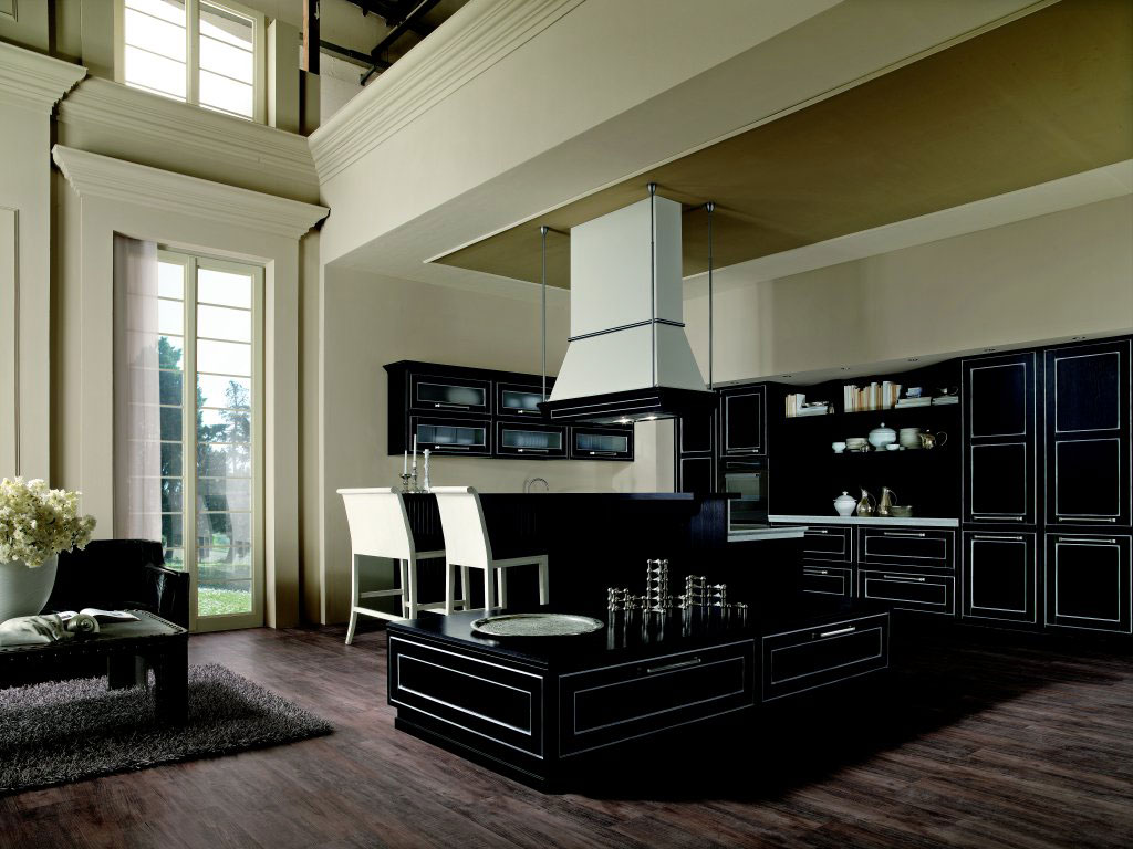 cuisine campagnarde rustique 46 photo de cuisine moderne. Black Bedroom Furniture Sets. Home Design Ideas