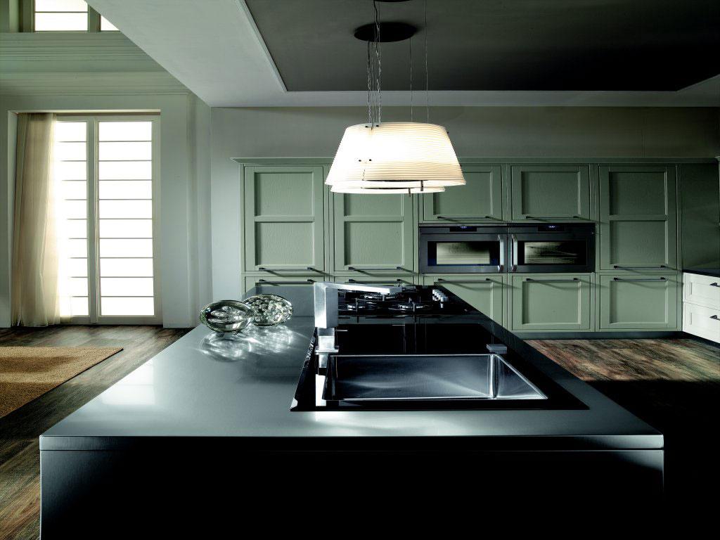Cuisine campagnarde rustique 58 photo de cuisine moderne design contemporaine luxe - Cuisine campagnarde moderne ...
