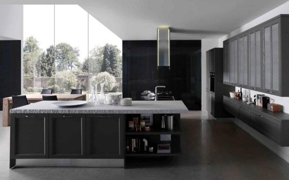 cuisine campagnarde rustique 63 photo de cuisine moderne. Black Bedroom Furniture Sets. Home Design Ideas