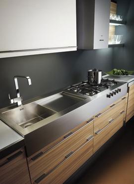 Cuisine en melamine 18 photo de cuisine moderne design for Feuille de melamine cuisine