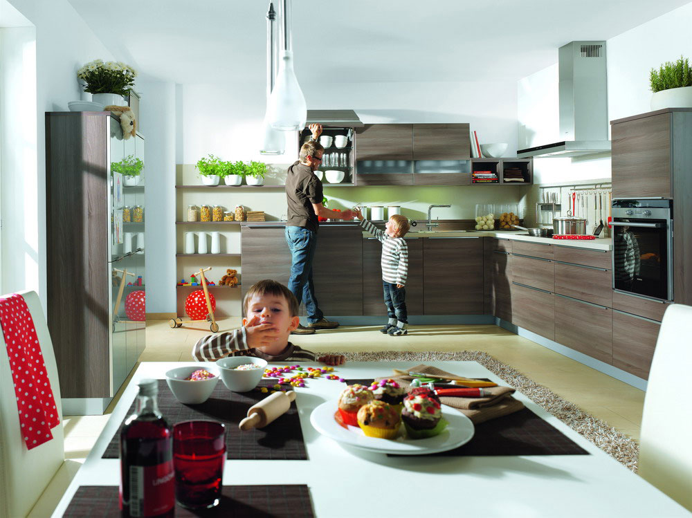 Cuisine en melamine 34 photo de cuisine moderne design - Cuisine de luxe moderne ...