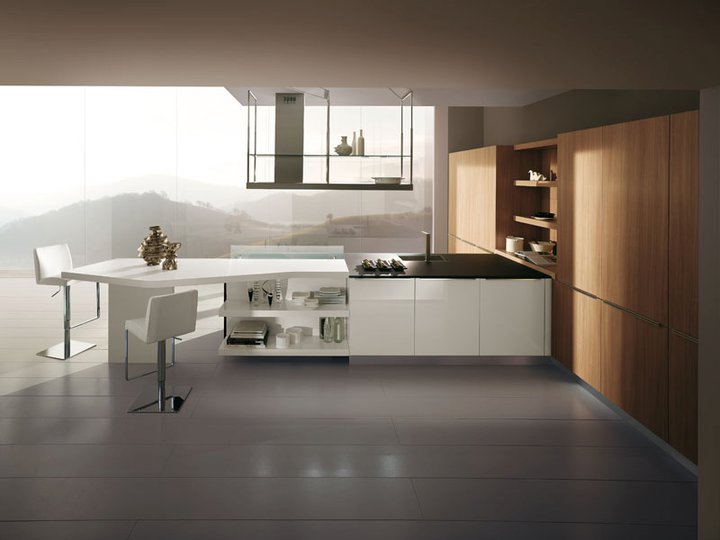 Cuisine en polymere 8 photo de cuisine moderne design for Modele cuisine italienne design