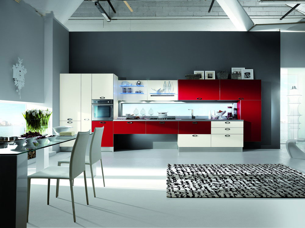 Cuisine en stratifie 4 photo de cuisine moderne design for Cuisine de luxe contemporaine