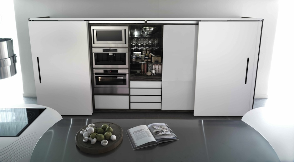 Cuisine futuriste 1 - Photo de cuisine moderne design contemporaine ...