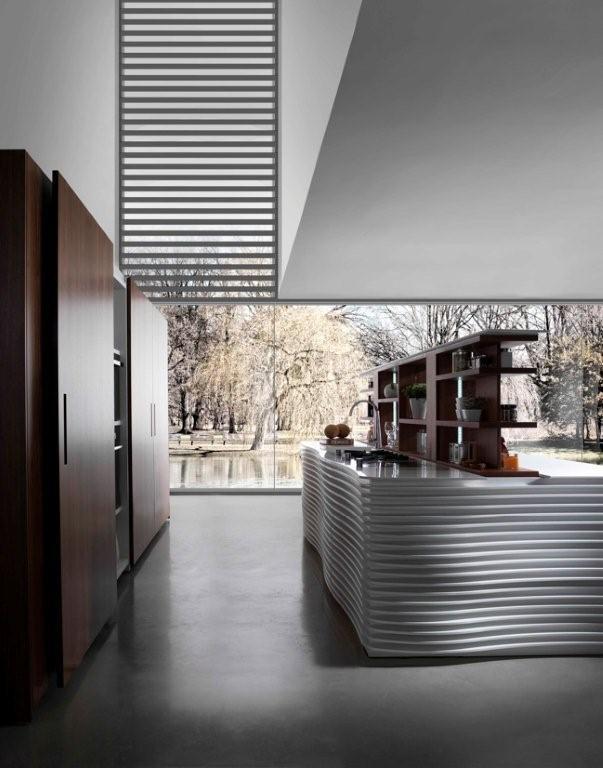 Cuisine futuriste 4 photo de cuisine moderne design for Cuisine futuriste