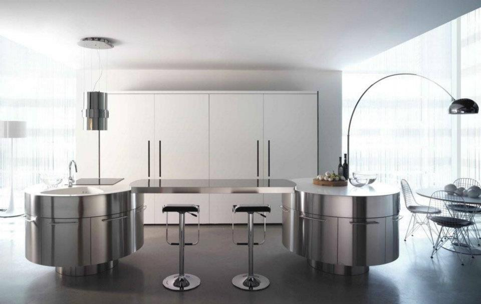 cuisine futuriste 5 photo de cuisine moderne design contemporaine luxe. Black Bedroom Furniture Sets. Home Design Ideas