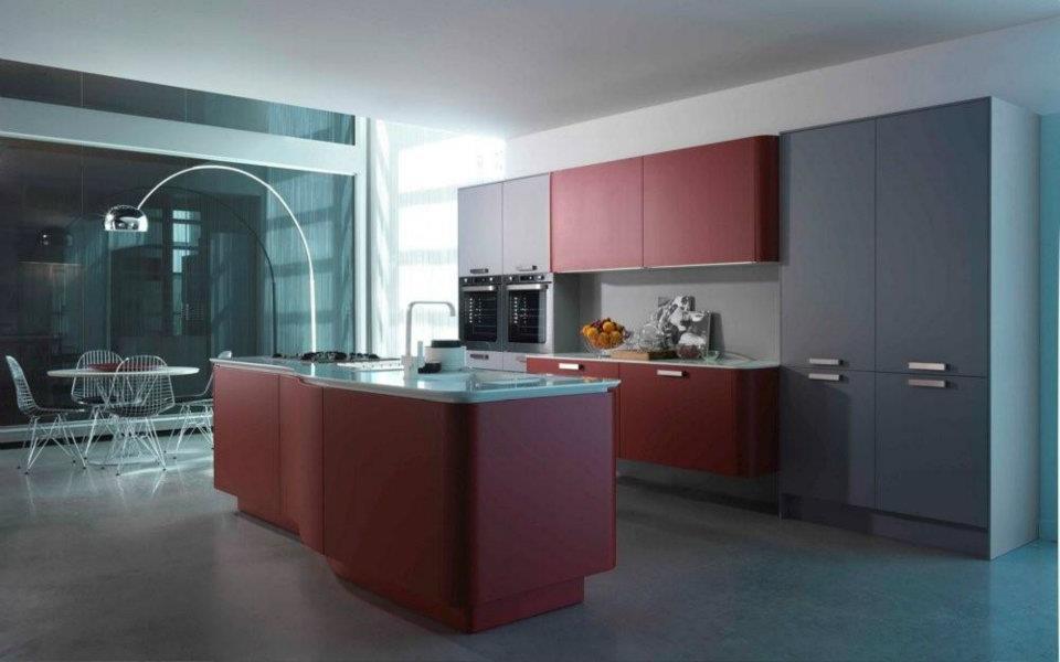 Ilot de cuisine 8 photo de cuisine moderne design contemporaine luxe for Cuisines italiennes contemporaines