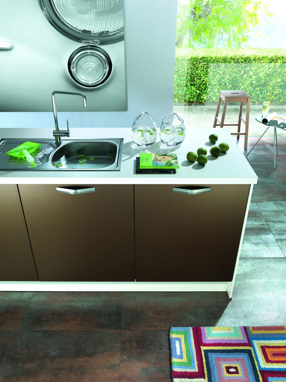 Cuisine marron 8 photo de cuisine moderne design for Cuisine marron