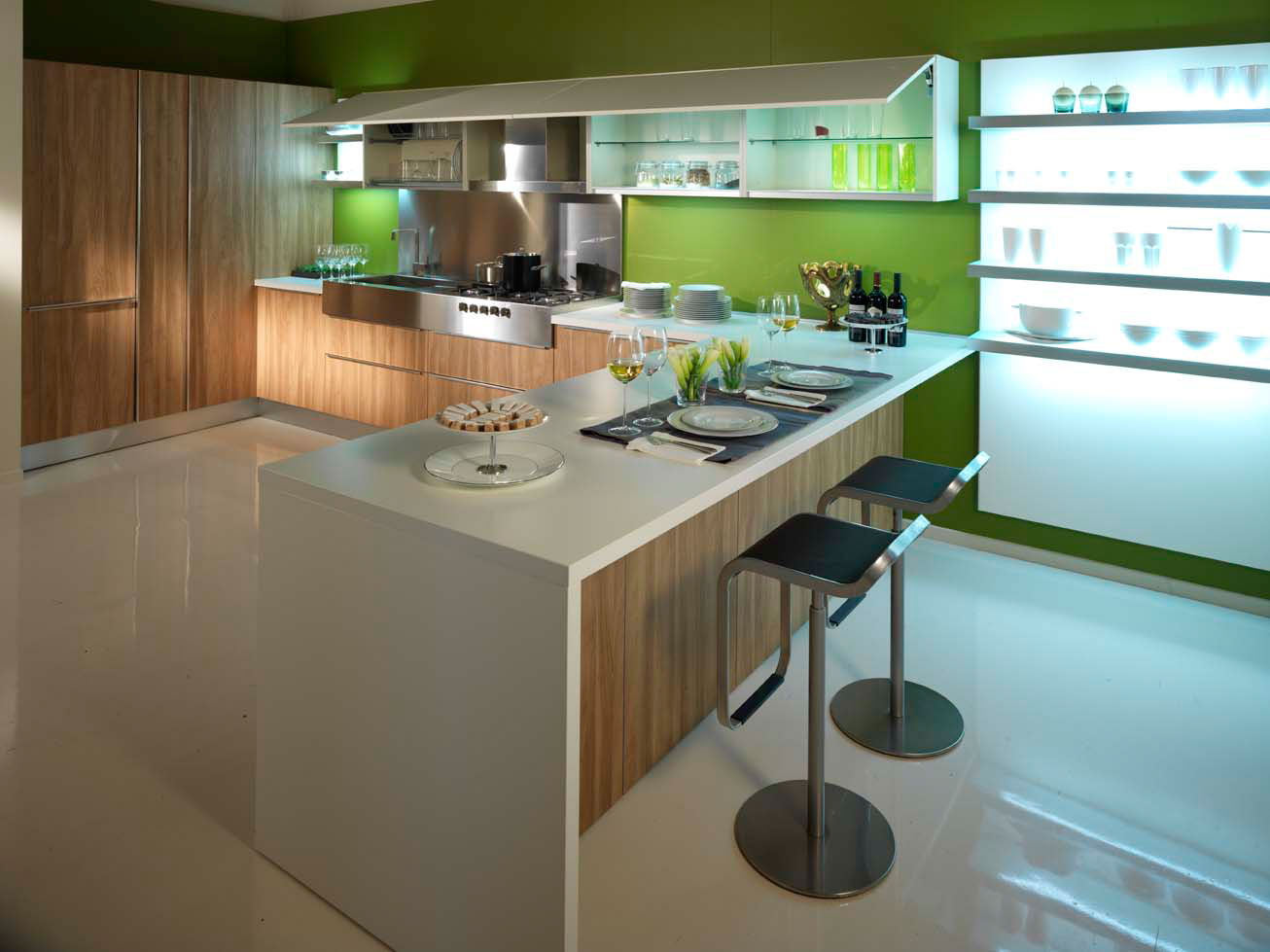 Cuisine pas cher 27 photo de cuisine moderne design for Cuisine de luxe contemporaine