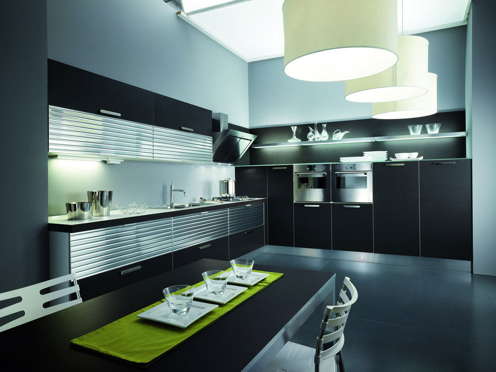 cuisine pas cher 4 photo de cuisine moderne design contemporaine luxe. Black Bedroom Furniture Sets. Home Design Ideas