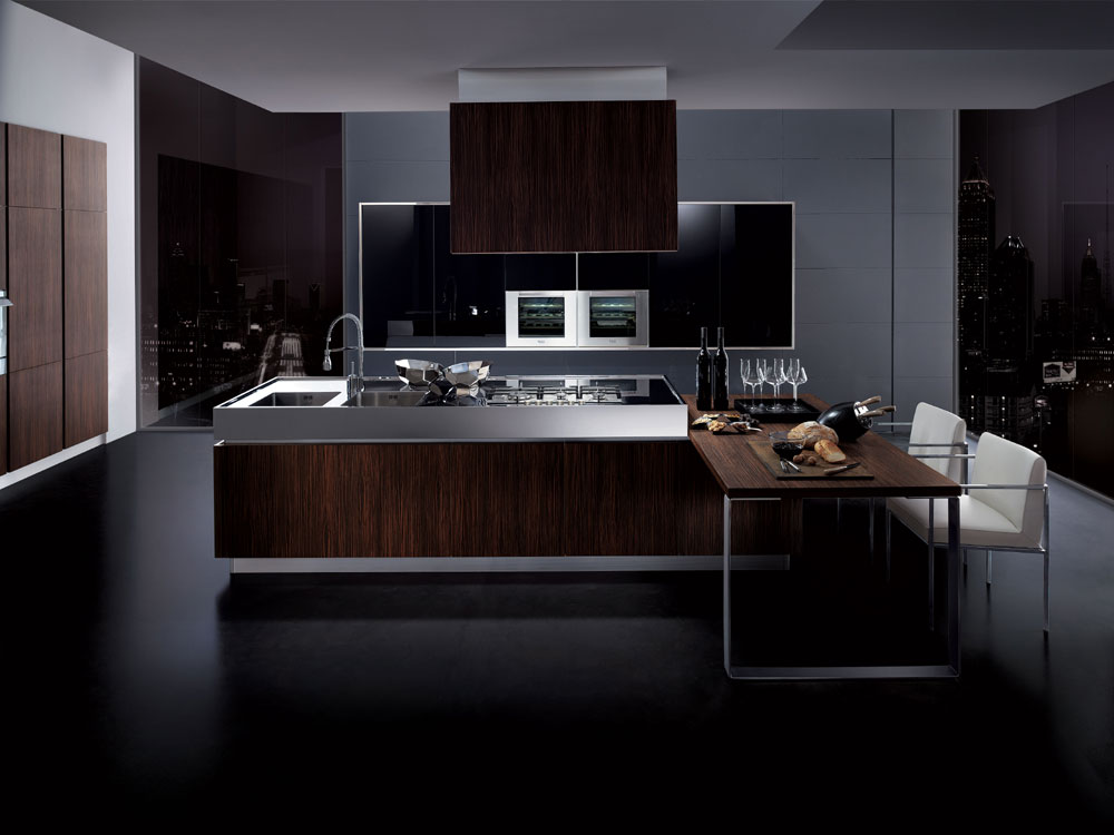 cuisine pas cher 40 photo de cuisine moderne design contemporaine luxe. Black Bedroom Furniture Sets. Home Design Ideas