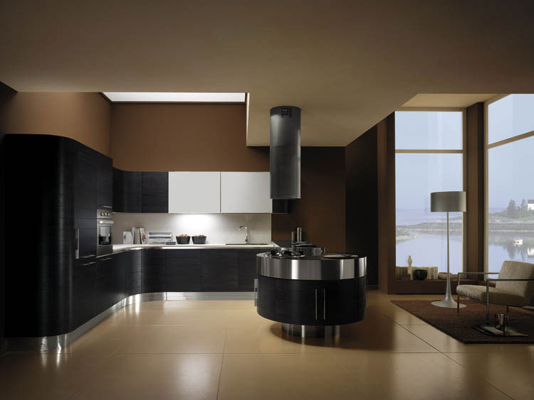 Cuisine ronde 16 photo de cuisine moderne design for Cuisine americaine moderne design
