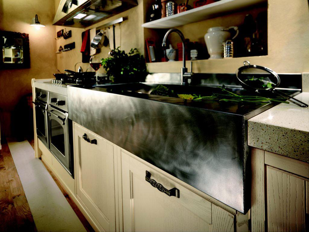 Cuisine rustique 2 photo de cuisine moderne design for Cuisine bois rustique