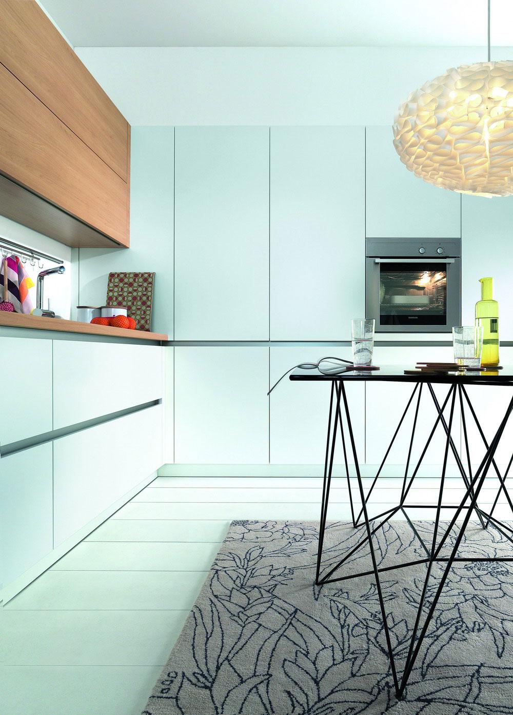 cuisine sans poignees 14 photo de cuisine moderne design. Black Bedroom Furniture Sets. Home Design Ideas