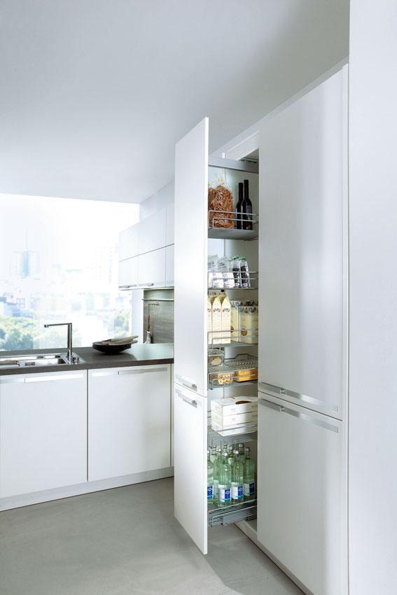 Cuisine sans poignees 8 - Photo de cuisine moderne design ...